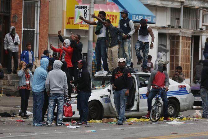 Emeutes à Baltimore