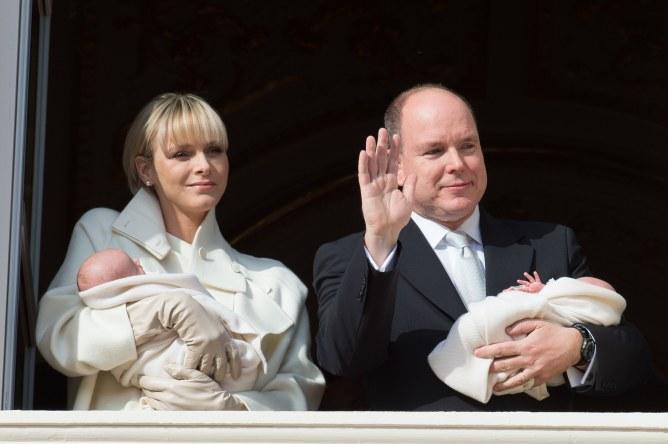 Albert et Charlène de Monaco