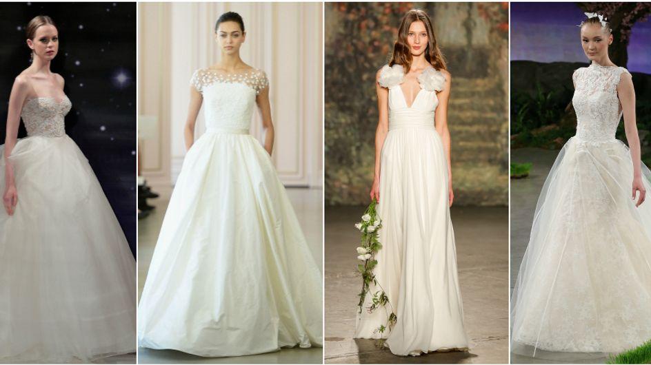 Devi sposarti l'anno prossimo? Ecco i 16 abiti più belli visti alle sfilate della moda sposa