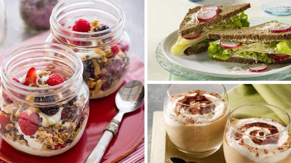 Mit Power in den Tag: Rezeptideen für ein kalorienarmes Frühstück