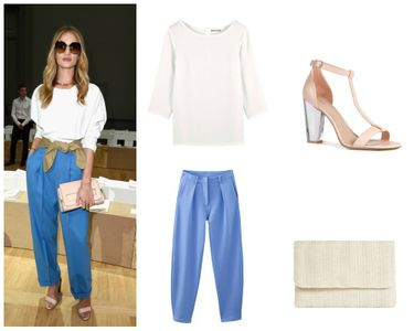Look de Rosie Huntington-Whiteley