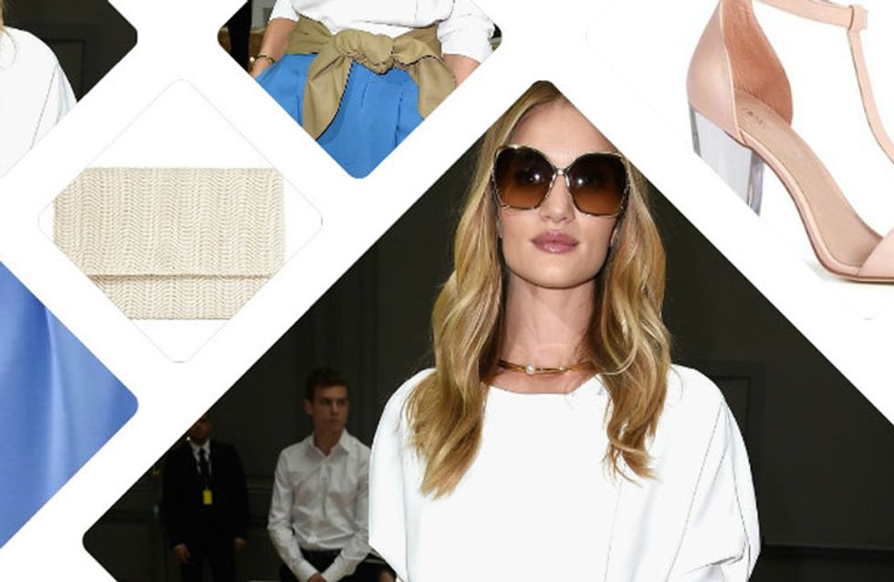 On copie le look chic et trendy de Rosie Huntington-Whiteley