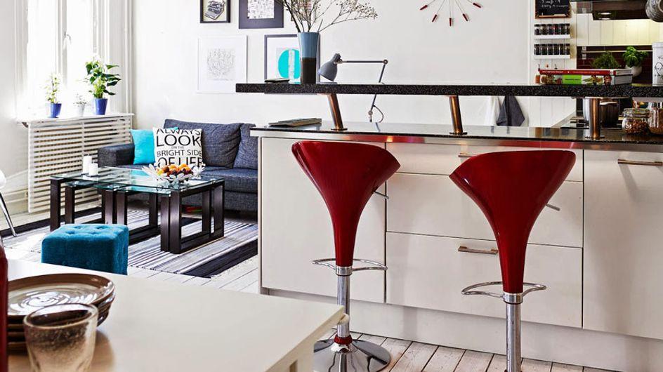 Decoración en rojo, ¡introduce en tu casa el color de la pasión!