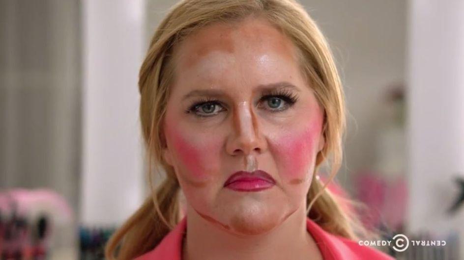Amy Schumer faz campanha pela beleza natural com videoclipe hilário