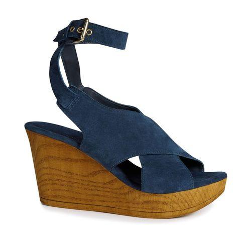 Sandales à brides croisées en daim - Next, en exclusivité chez 3Suisses : 53 €