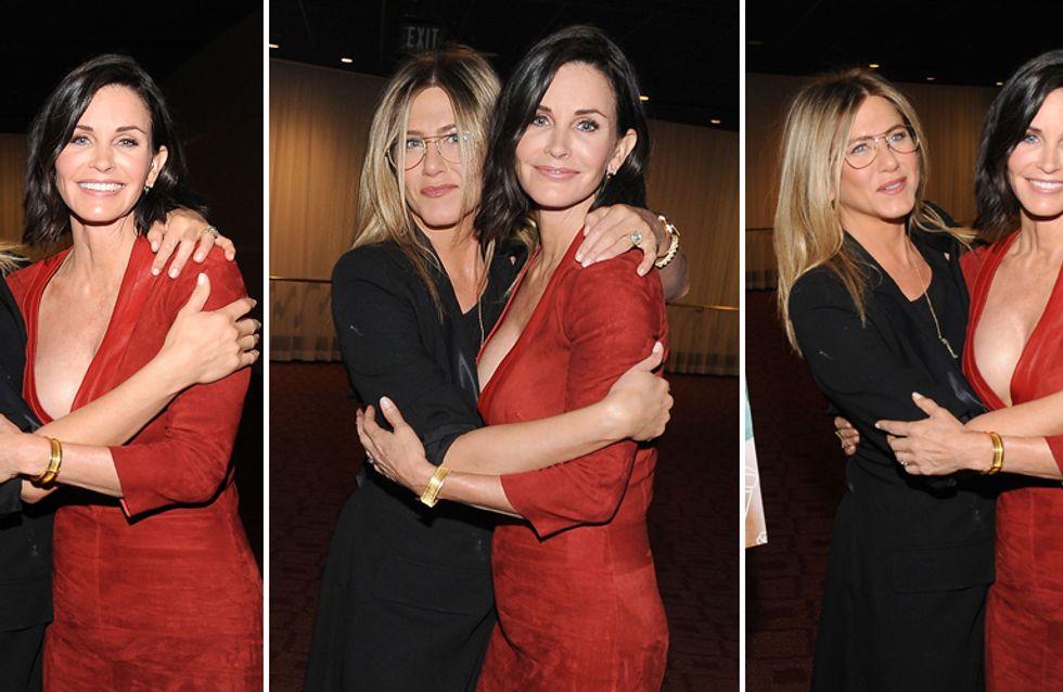 Jen e Courteney BFF: le foto delle due star di Friends, ancora inseparabili dopo 20 anni!