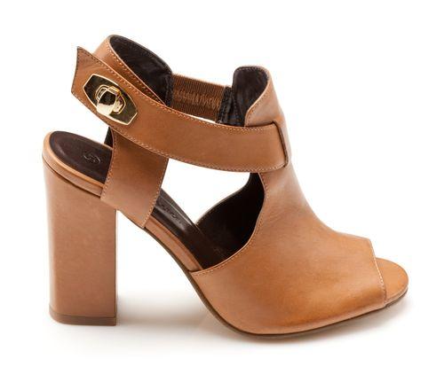 Sandales cuir à talon - 3Suisses Collection : 79 €