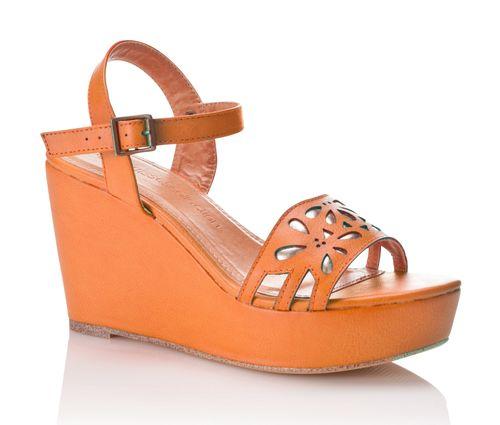 Sandales fantaisie compensées - 3Suisses Collection : 69 €