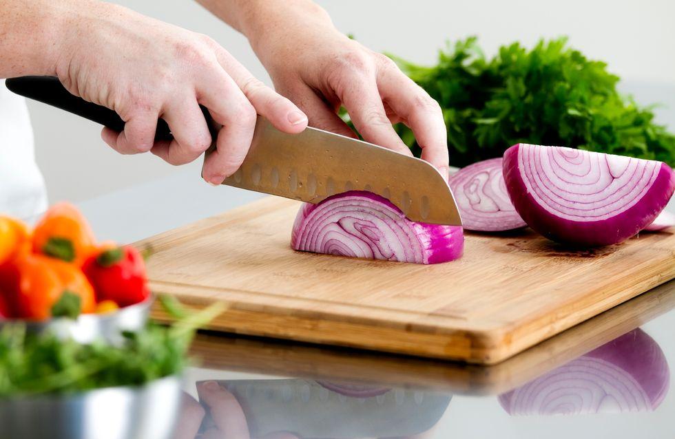 Da oggi puoi tagliare la cipolla e non piangere