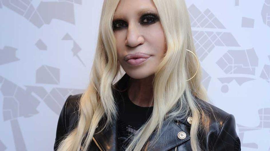 Donatella Versace es la nueva cara de Givenchy