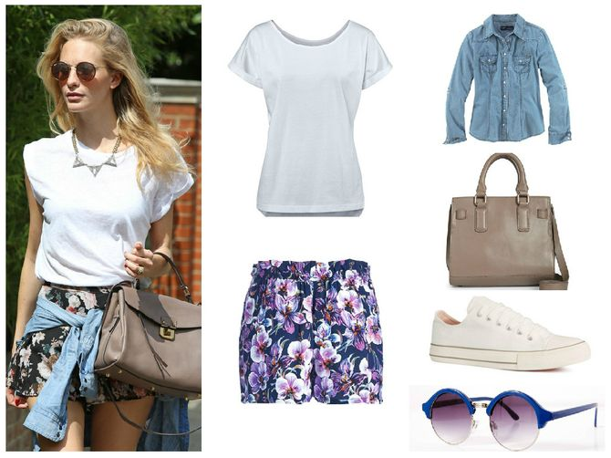 Look de Poppy Delevingne