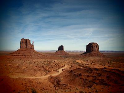Le point de vue mythique de Monument Valley