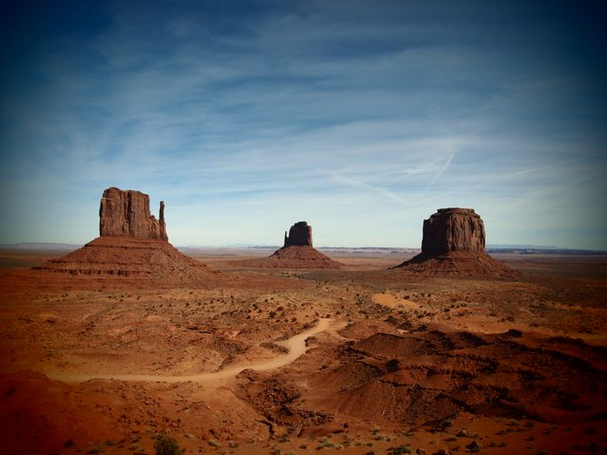 Le point de vue mythique de Monument Valley