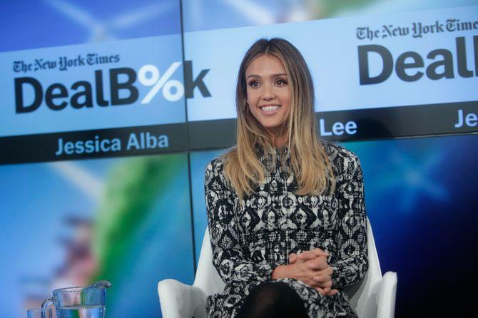 Jessica Alba à un événement.