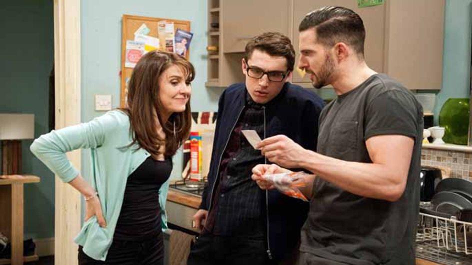Emmerdale 11/05 - Finn has growing suspicions about Emma