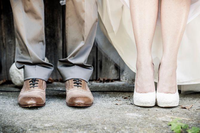 Les tongs, nouvelles chaussures tendances pour le mariage