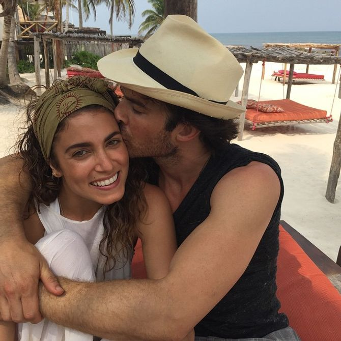 Nikki Reed et son mari Ian Somerhalder