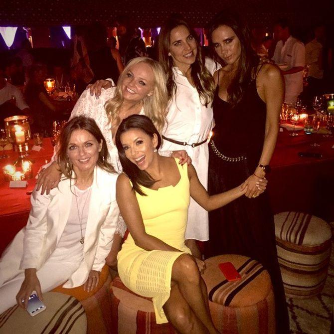 Les Spice Girls et Eva Longoria