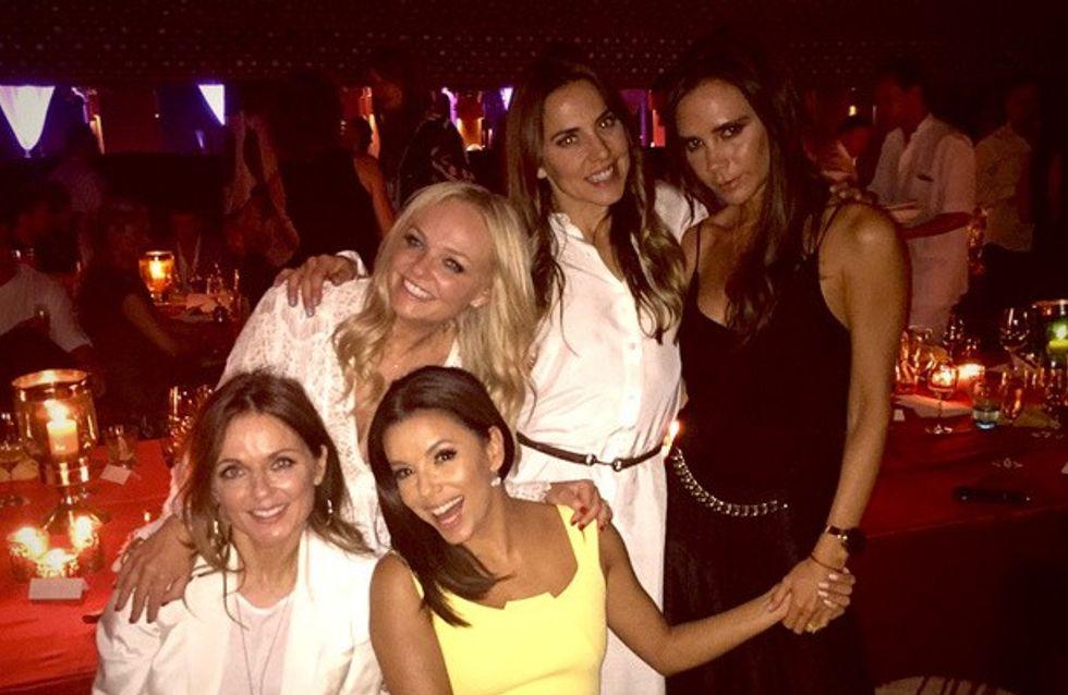 Les Spice Girls se réunissent pour les 40 ans de David Beckham (Photos)