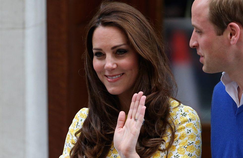 Kate Middleton a accouché sans péridurale
