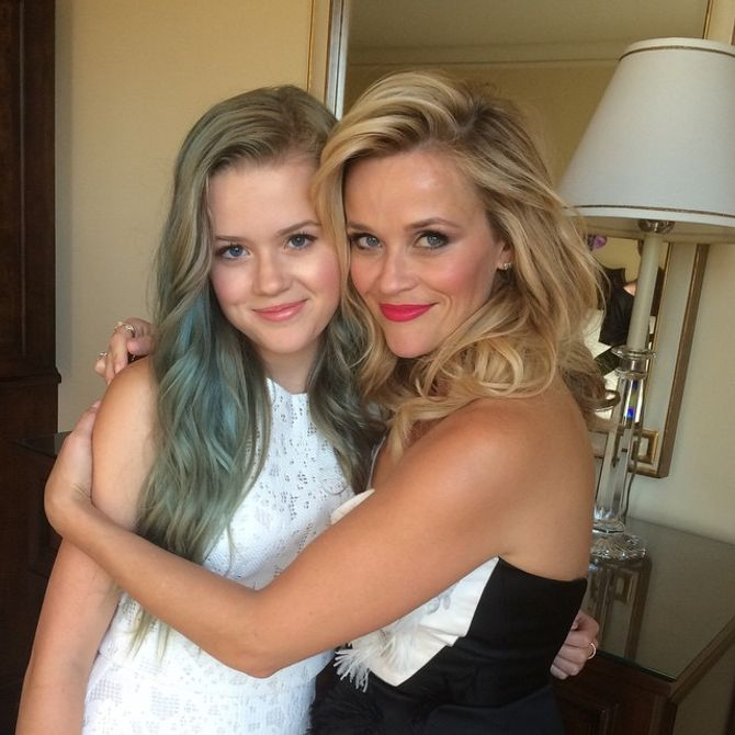 Reese Witherspoon et Ava Phillippe