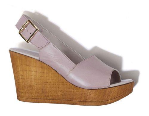 Sandales compensées à bride arrière et bouts ouverts - Next, en exclusivité chez 3Suisses : 53 €