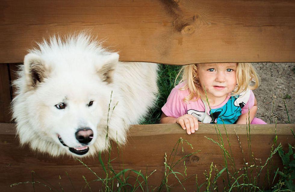 30 fotos que demuestran que tus hijos necesitan un perrito en sus vidas