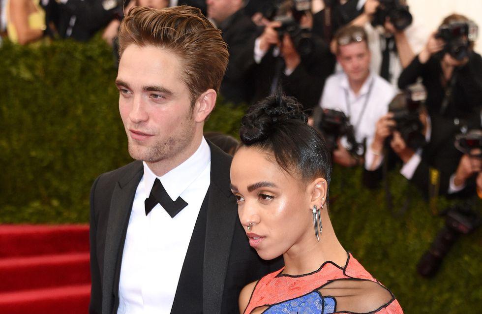 Robert Pattinson et FKA Twigs s'affichent ensemble au Met Ball (Photos)