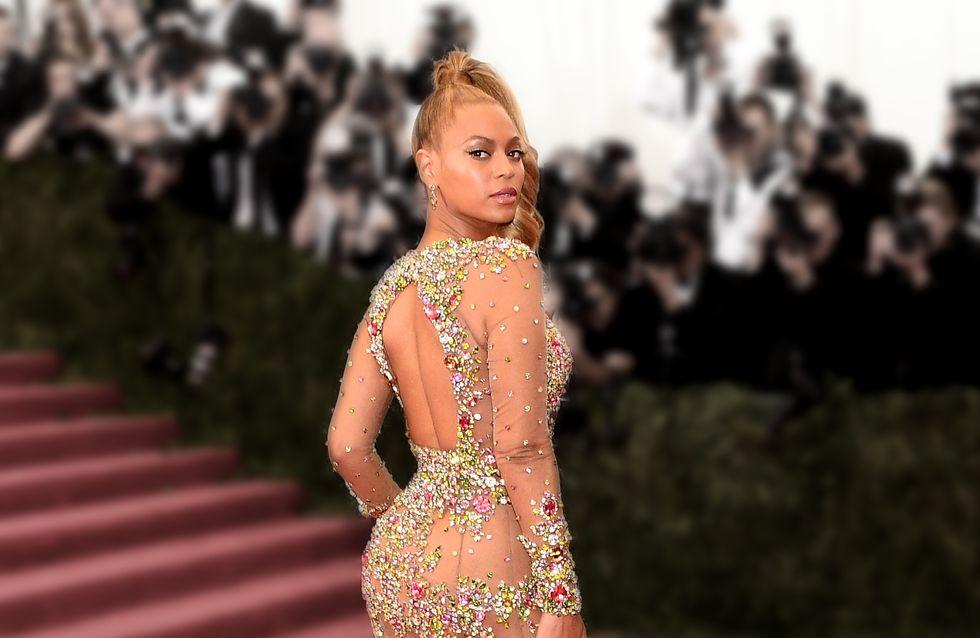 Beyoncé se dénude pour le Met Ball 2015 (Photos)