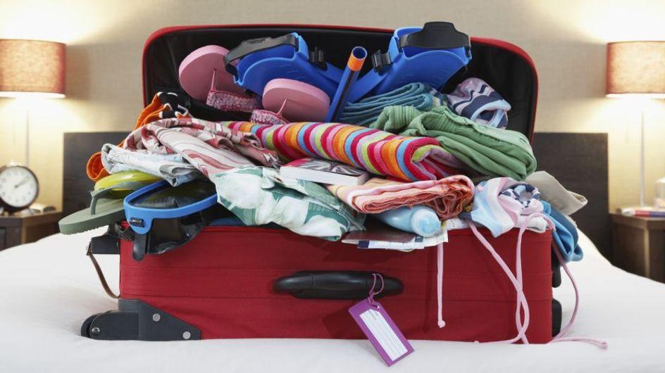 10 consigli per fare la valigia in modo intelligente senza stropicciare i vestiti