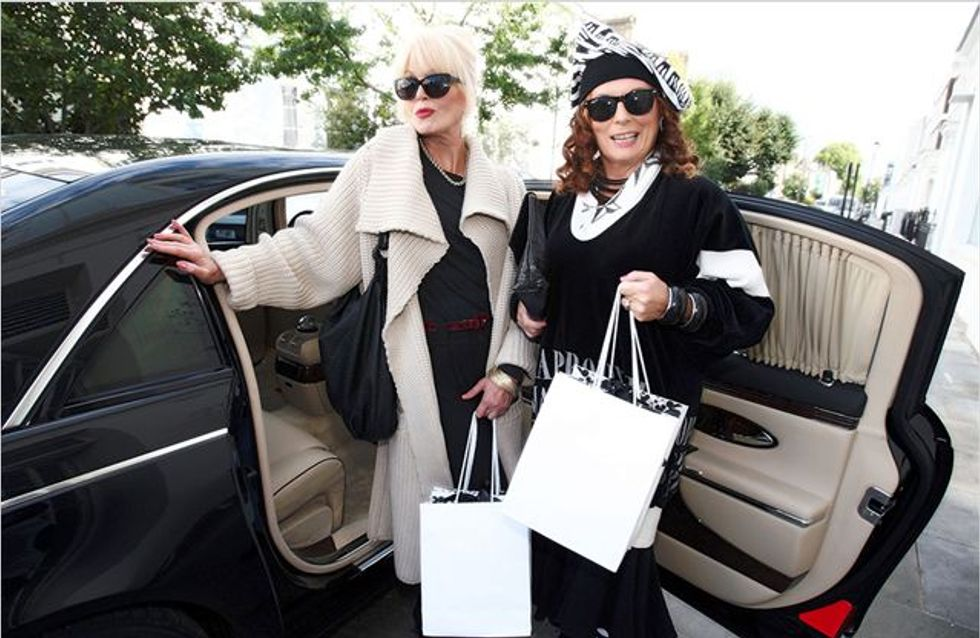 """""""Absolutely Fabulous"""" : Eddy et Patsy reviennent au cinéma"""