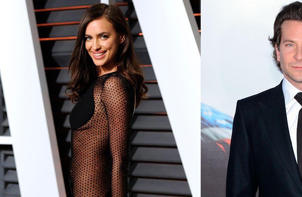 Irina Shayk cambia a Ronaldo por Bradley Cooper