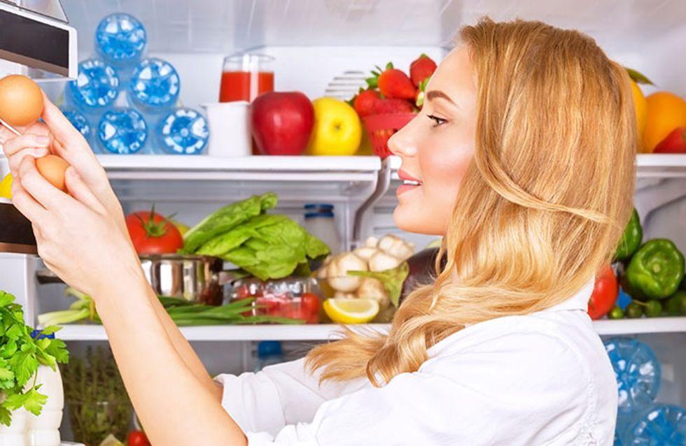 Manual prático da geladeira organizada