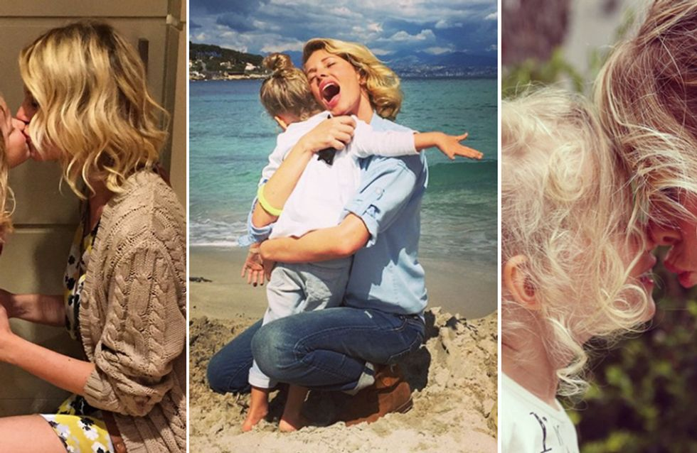 La Marcuzzi in versione dolce mamma. Le foto più tenere di Alessia e della piccola Mia!