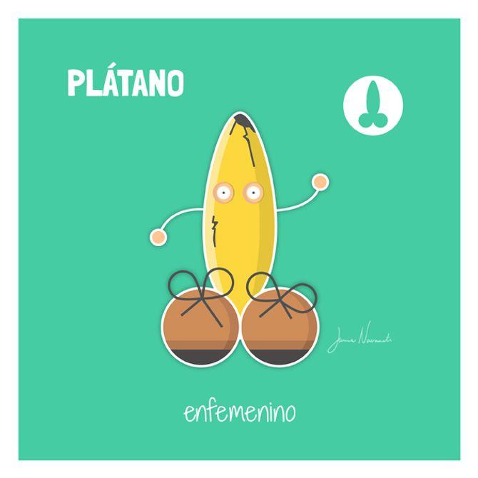 Pene plátano