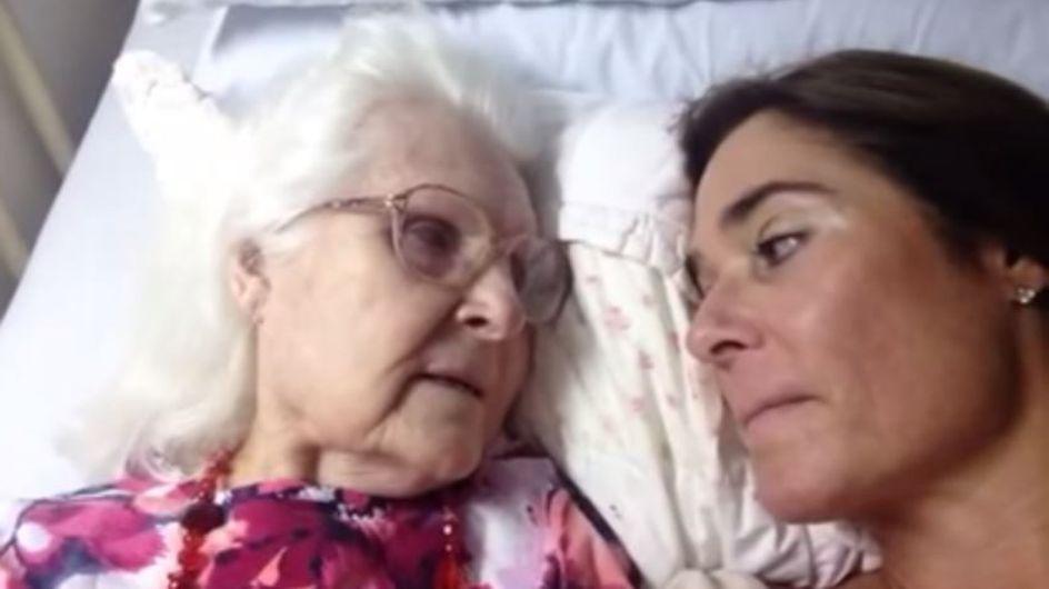 Der emotionale Moment, in dem eine Frau mit Alzheimer sich wieder an ihre Tochter erinnert