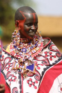 Mariée Masaï