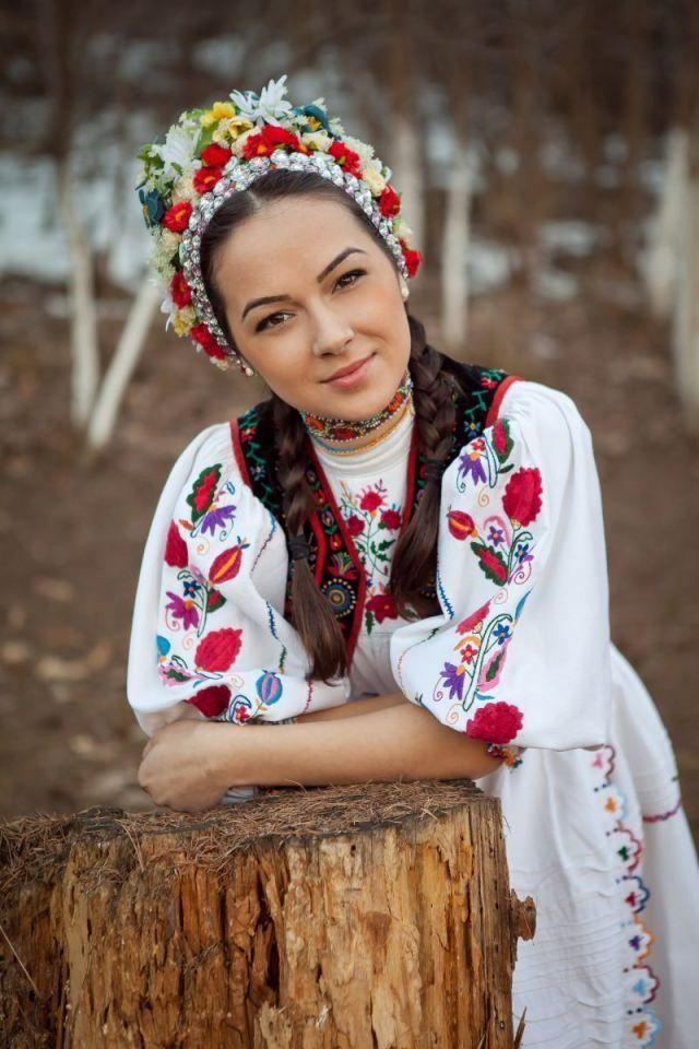 Mariée roumaine