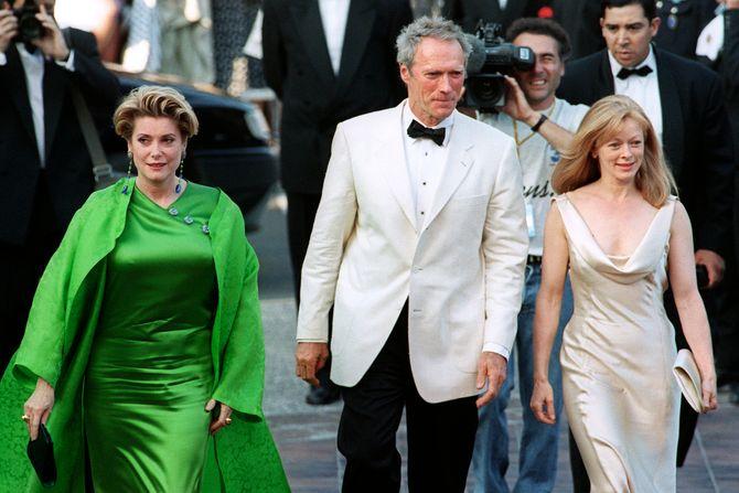 Catherine Deneuve, membre du jury du Festival de Cannes 1994