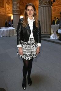 La princesse Beatrice lors de la conférence sur le luxe organisée par Condé Nast