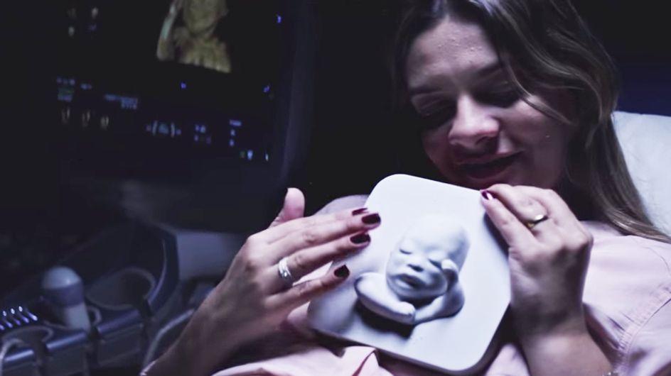 Una madre ciega conoce a su bebé gracias una ecografía en 3D
