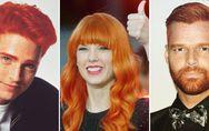 Quando le star si tingono di rosso: ecco come sarebbero le celebrities in versio