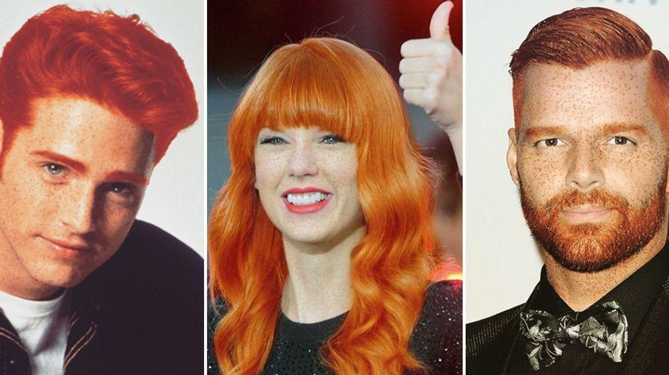 Quando le star si tingono di rosso: ecco come sarebbero le celebrities in versione ginger!