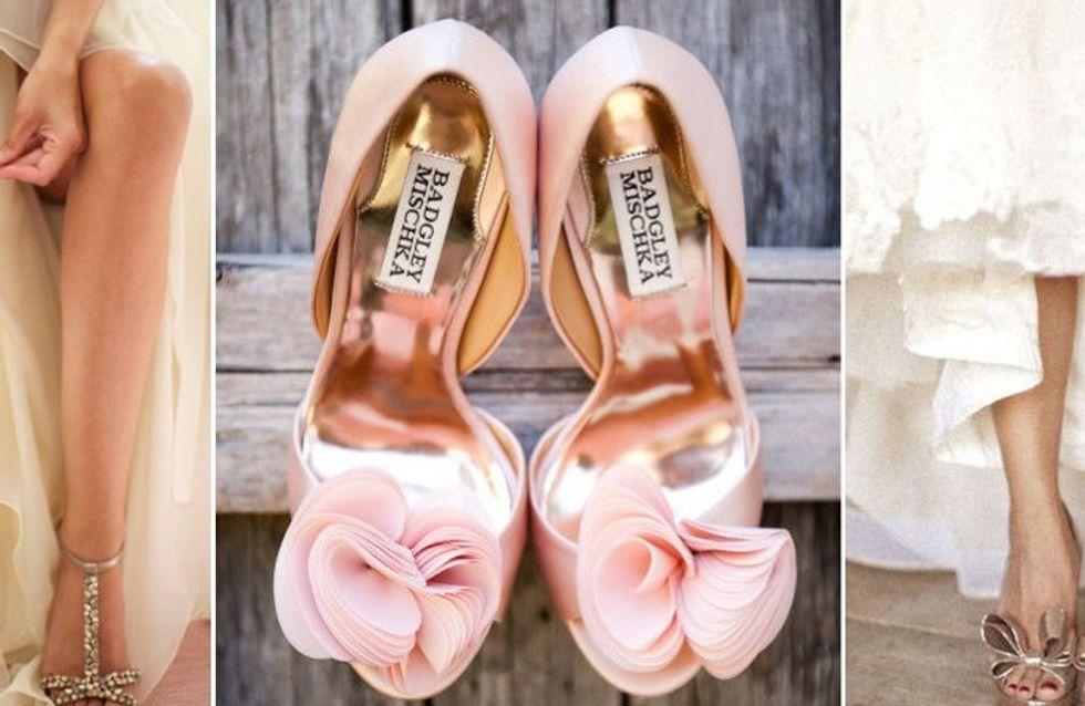 Como encontrar o sapato de noiva ideal?