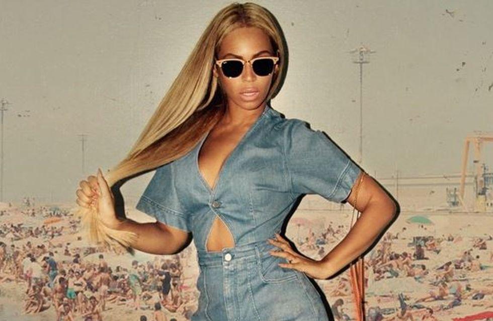 Beyoncé craque pour le combi-short denim