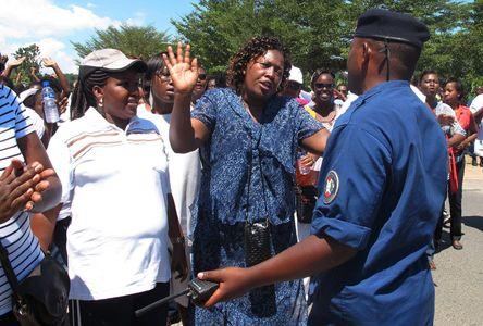 Des manifestantes au Burundi