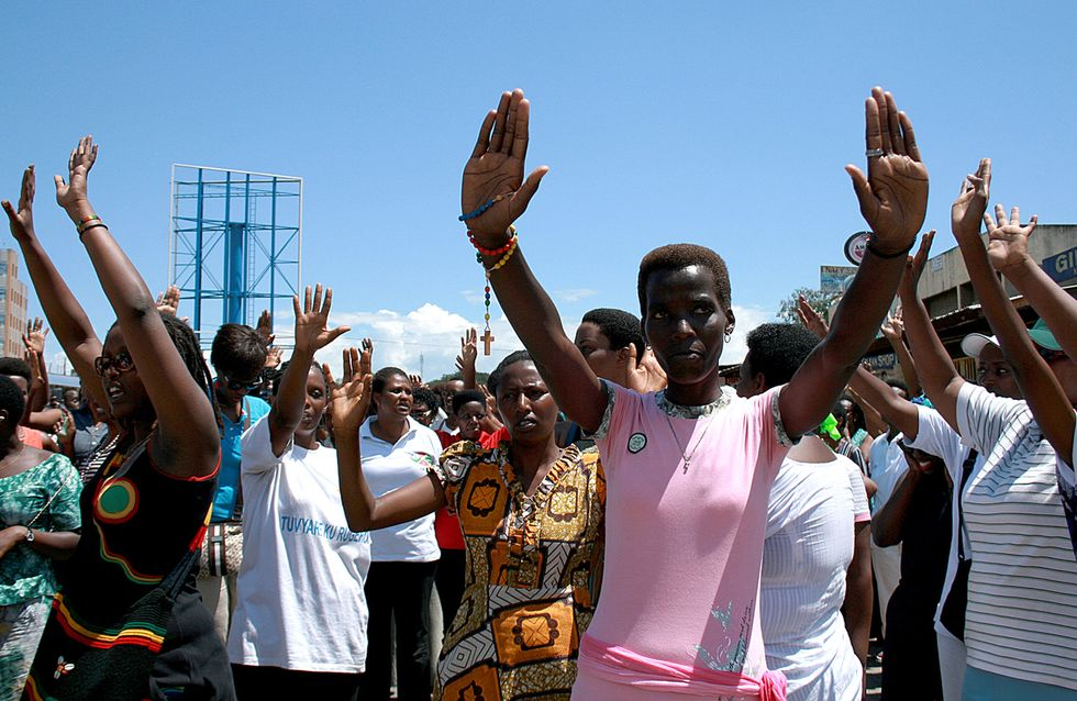 Au Burundi, des femmes bravent les interdits et manifestent pour la paix