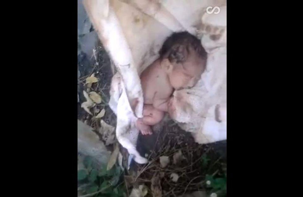 Cet homme a sauvé un bébé abandonné dans la rue au Mexique (Vidéo)