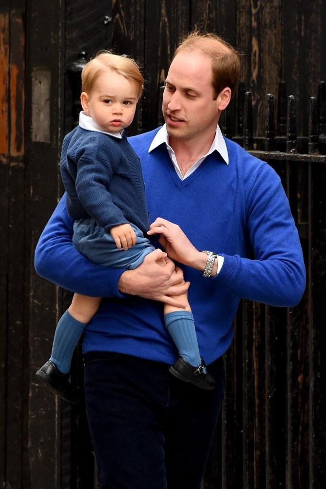 Le prince William et son fils George