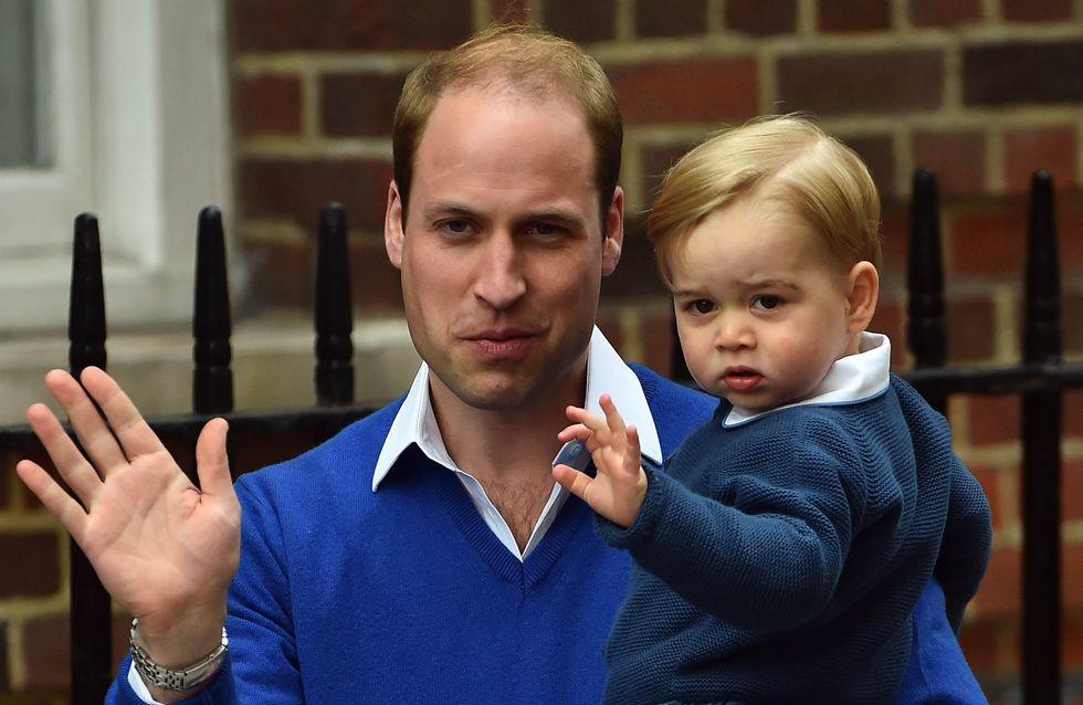 Le prince George fasciné par sa petite sœur Charlotte